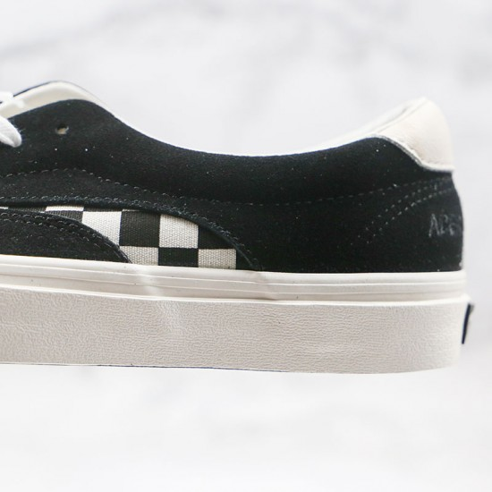 Black Vans Resurrects Acer NI With Bold Checkerboard Highlights Skate Shoes