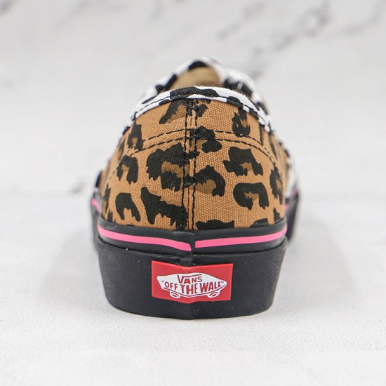 Vans Authentic Leopard Combined With Spotted Dog Print Shoes